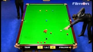 Ronnie O'Sullivan vs Judd Trump - WSC 2013 Semifinal First session