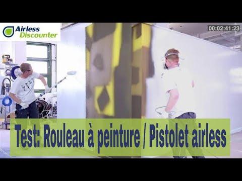 Rouleau à Peinture Vs Pistolet Airless Youtube