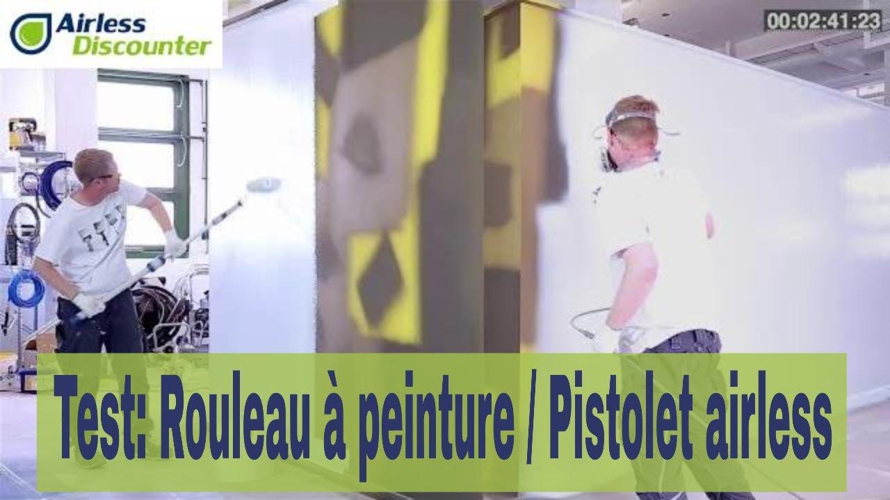 Rouleau à Peinture Vs Pistolet Airless