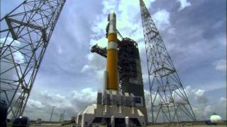 Mission Highlights: Delta 4 rocket launches the GPS IIF-2 satellite (Credit: ULA)