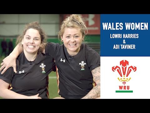 Teammates: Lowri Harries & Adi Taviner | Women's Six Nations