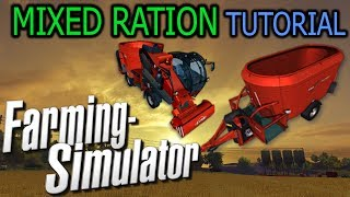 Farming Simulator 2013 - Mixed Ration Tutorial