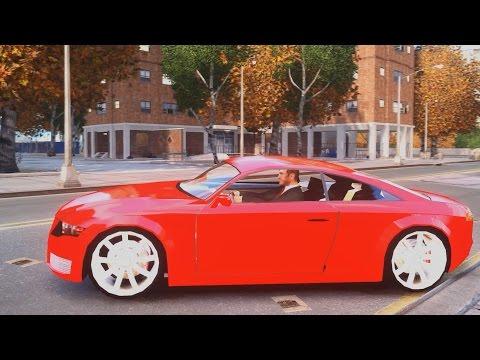 Audi Nuvolari Quattro 2004 Concept - GTA IV ENB - 2.7K / 1440p !