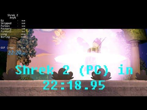Shrek 2 (PC) In 22:18.95 (Former WR)