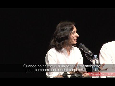 Biennale Teatro 2016 - Meeting with Angélica Liddell