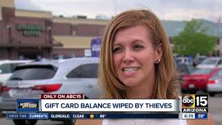 Gift Card Balance Wiped By Thieves