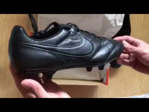 01394caf7a26 Nike Premier Triple Black - Unboxing - YouTube