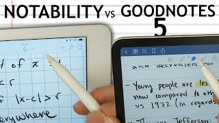 GoodNotes 5 vs Notability! Ultimate iPad Note Experience?