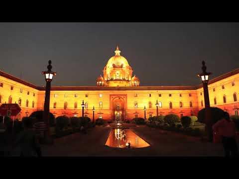 Illumination of the North and South Block | Central Secretariat, New Delhi