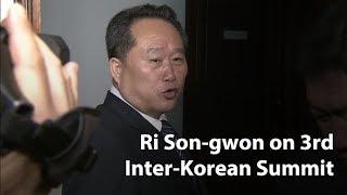 North Korea's Ri Son-gwon and the third inter-Korean summit
