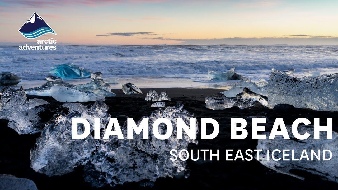 The Diamond Beach Iceland Youtube