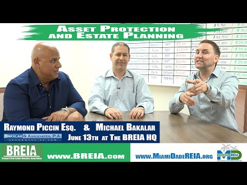 Lets Talk About Asset Protection and Estate Planning! On Today's Get You Moving Monday