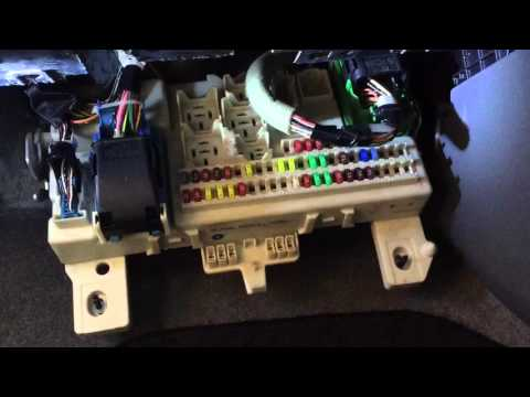 2007 mazda 3 - locate fuse box & check fuse - youtube  youtube