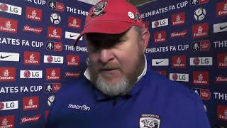 Video INTERVIEW: Beadle On FA Cup Knockout Against Fleetwood Town download MP3, 3GP, MP4, WEBM, AVI, FLV Juli 2018