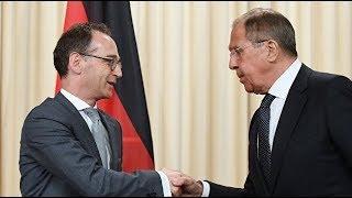 Пресс-конференция Лаврова и главы МИД Германии. Прямая трансляция
