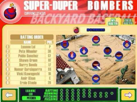 Backyard Baseball 2003 Gameplay   Part 1