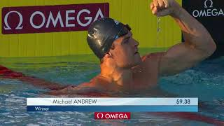 Men's 100m Breast A Final | 2018 Phillips 66 National Championships
