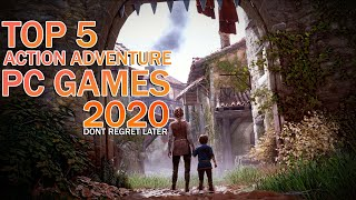 TOP 5 Action Adveฑture Games For PC 2020 | The Best Story Games OF all
