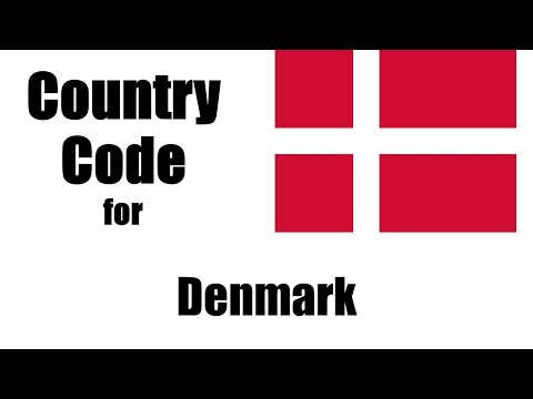 Denmark Dialing Code - Dane Country Code - Telephone Area Codes In Denmark
