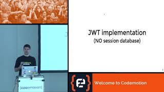 Cracking JWT tokens (...) - Luciano Mammino - Codemotion Milan 2017