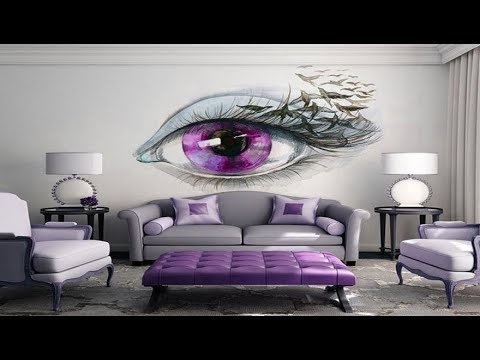 30 Amazing 3d Wall Painting For Your House And Living Room Latest Collection 2018