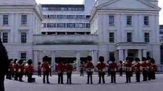 Royal Guards playing Thunderbirds theme