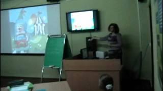 Школа №16 г.Кременчуга .Урок русского языка в 5-а классе.