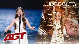 Emanne Beasha | Judge Cuts - America's Got Talent 2019 | Jay Leno's Golden Buzzer | Caruso
