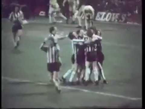 Newcastle v Tottenham, Lge Cup Semi Final 2nd Leg, 21st January 1976