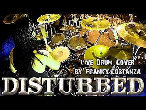 DISTURBED - The GAME - DRUM CAM by FRANKY COSTANZA