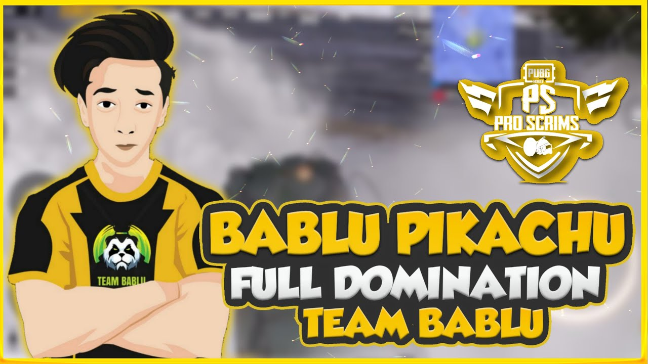 | PMPL S2 GRIND | TEAM BABLU ELITES SCRIMS GAMEPLAY' PIKACHU GAMING 😉