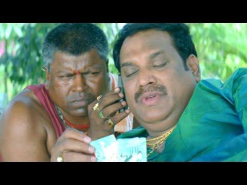 Comedy Kings - Ramalingeswara Rao Play Cards Comedy Scene - Ahuti Prasad
