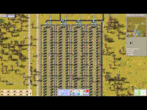 Let's Play Factorio 4.018: Iron Mine 001