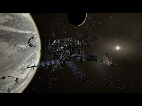 X4: Foundations - Vortex HQ Megacomplex - Full Paranid module station - COMPLETED thumbnail