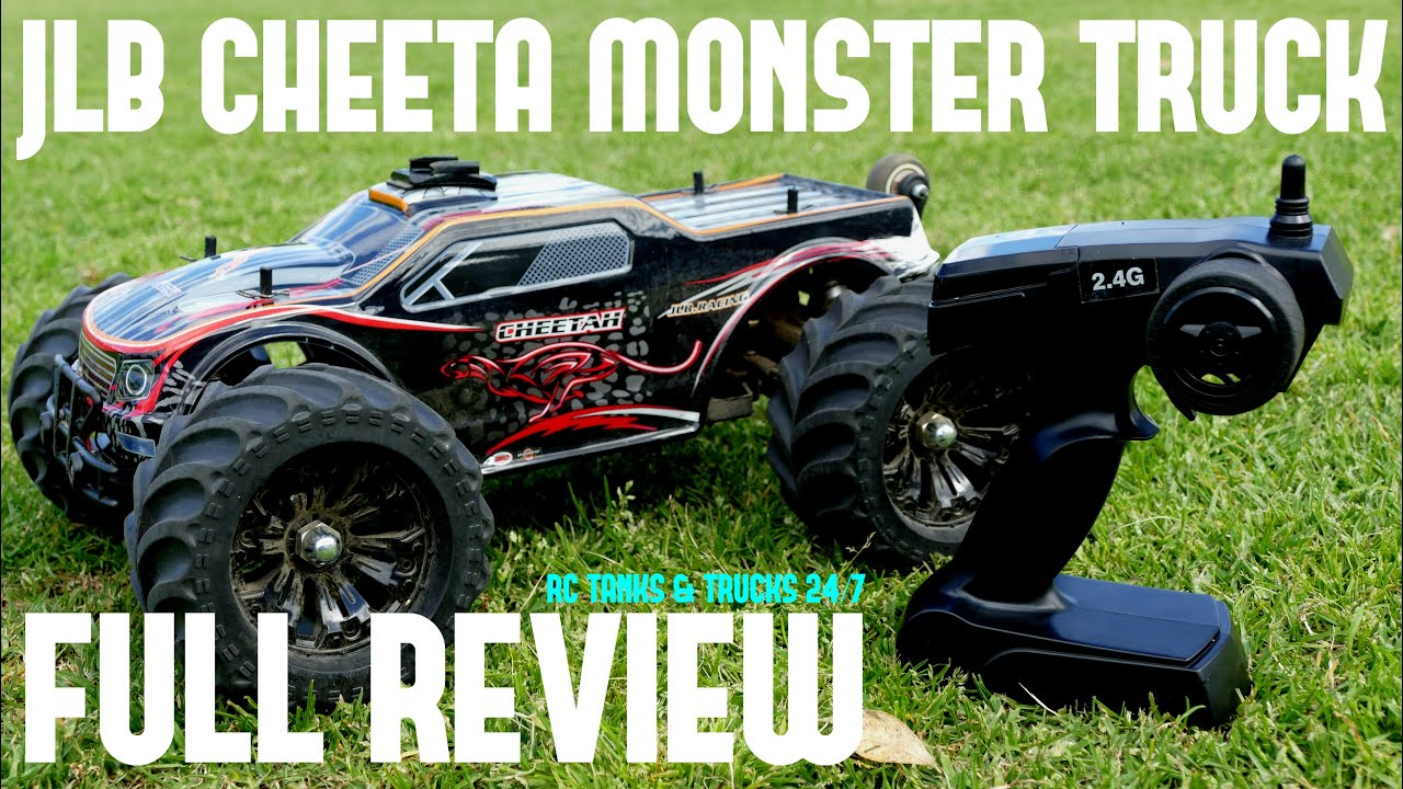 Jlb Cheetah Rc Brushless Monster Truck Review Affordable Super