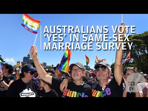 Australia votes yes for same-sex marriage
