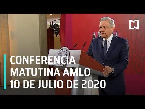 Conferencia matutina AMLO / 10 de julio de 2020