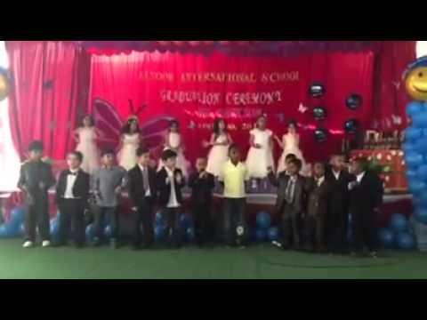حفل تخريج مدارس النور العالمية Kgh 5 2015 Youtube