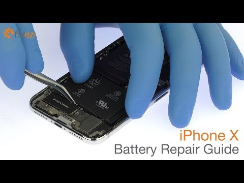 iPhone X Battery Repair Guide - Fixez.com