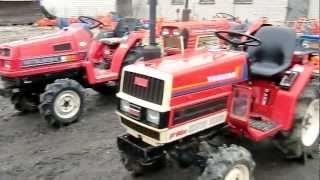 Sprzedaż używanych mini traktorów-ciągników ogrodniczych. www.akant-ogrody.pl