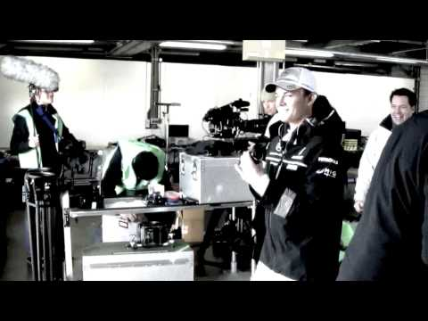 Behind the scenes footage of Michael Schumacher, Nico Rosberg and the Mercedes GP Petronas team