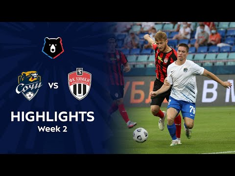 Sochi Khimki Goals And Highlights