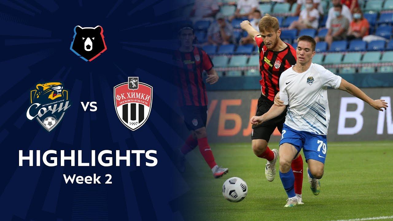 Highlights Fc Sochi Vs Fc Khimki 1 1 Rpl 2020 21 Youtube