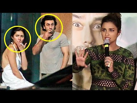 Parineeti Chopra's Reaction On Ranbir Kapoor And Mahira Khan CAUGHT Smoking In New York
