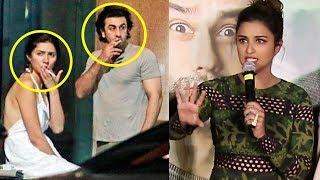 parineeti chopra s reaction on ranbir kapoor and mahira khan caught smoking in new york