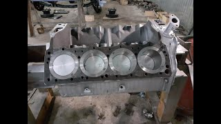 Зил 130 №7 (Сборка двигателя)