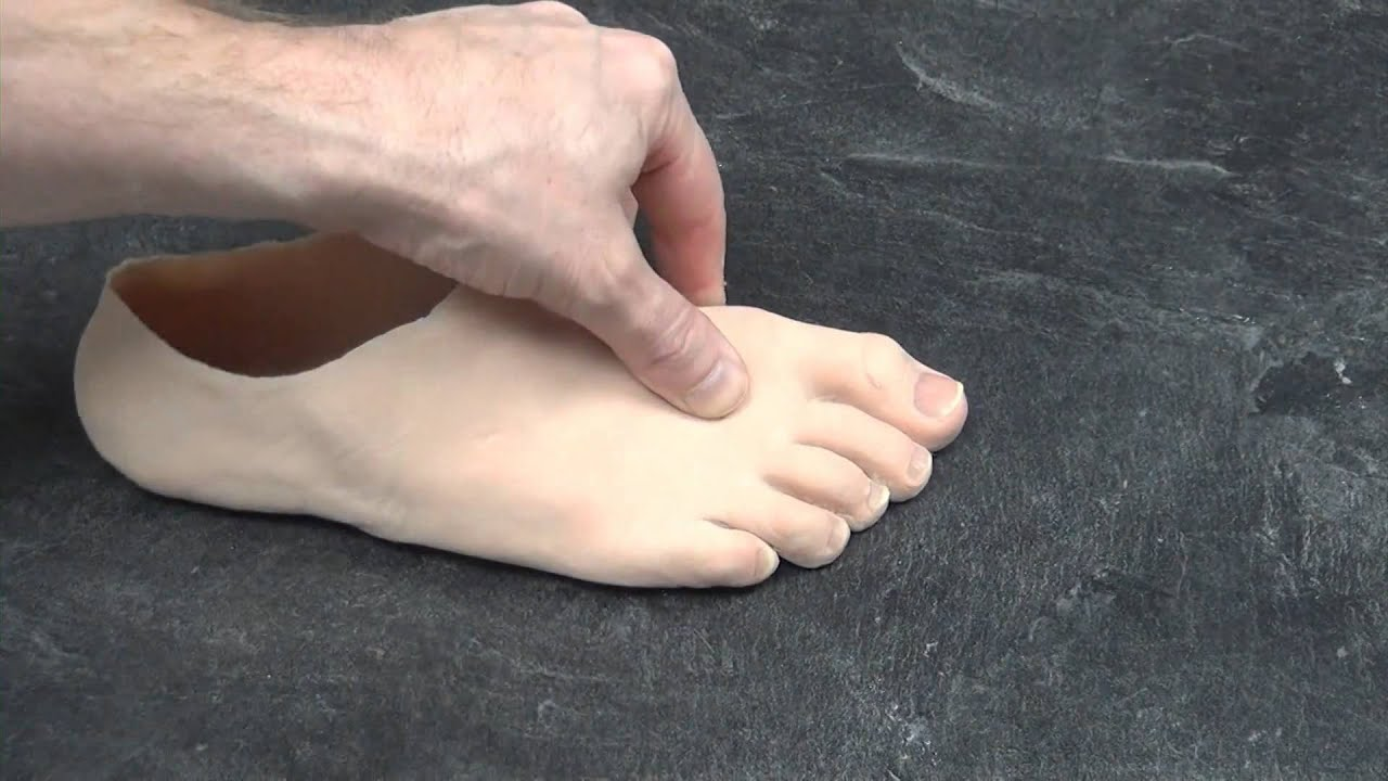 Partial Foot Prosthetic