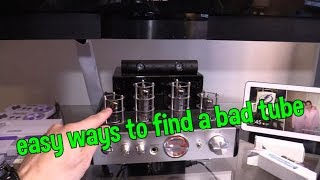 How to Fix Monoprice Tube Amp Humming Popping noise from Speaker or No Audio Sound