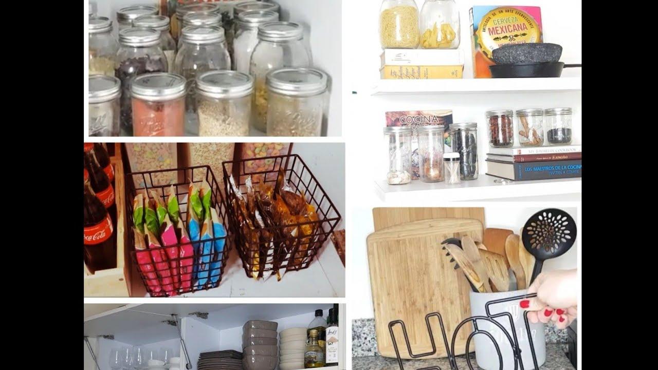 TIPS como organizar tu COCINA y ALACENA  Kitchen  Pantry
