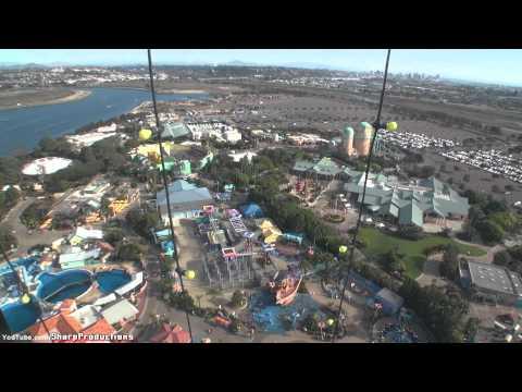 Skytower (On-Ride Day) SeaWorld San Diego